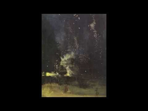 James Abbott McNeill Whistler's Nocturne in Black and Gold