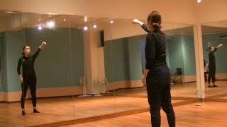 香音先生のダンス講座~一緒にやってみよう①~ロールアップ・ロールダウン・肩回しのサムネイル画像
