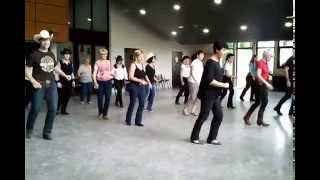 GONNA GET MARRIED (country line dance) - David Linger