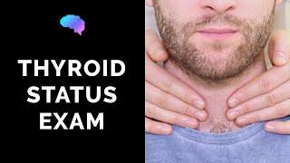 Thyroid Status Examination - OSCE Guide - YouTube