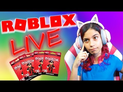 Roblox Jailbreak JB Cash & Robux Giveaway & Madcity (Oct-14) LisboKate LIVE Stream HD