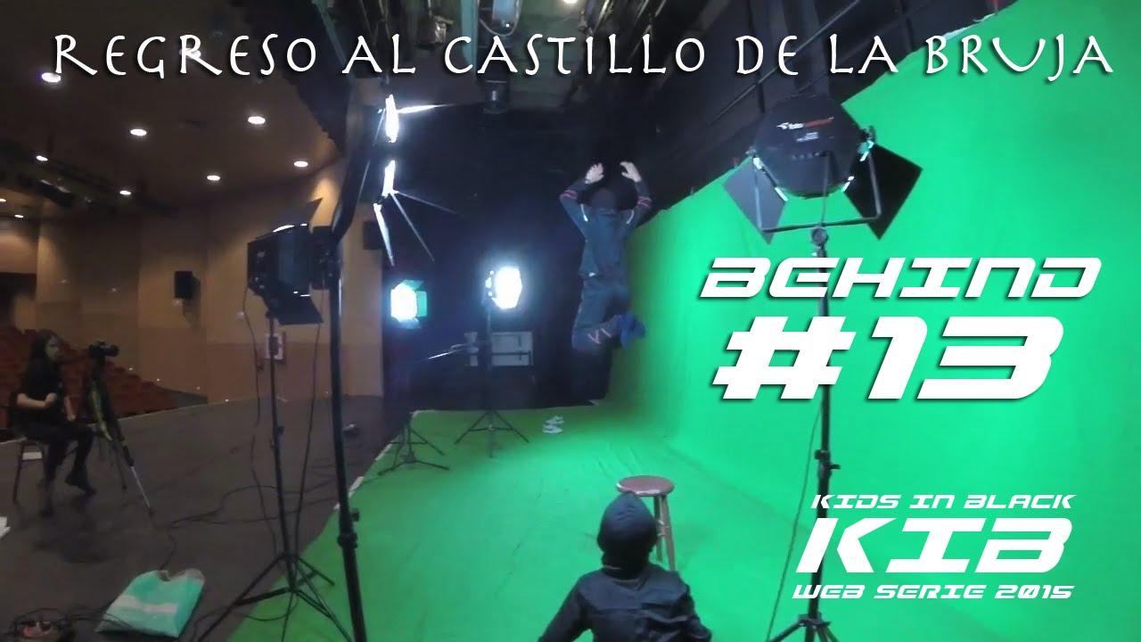 Regreso al Castillo de la Bruja -  Kids In Black 2015 - Detrás de las cámaras #13