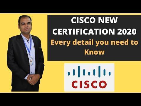 Cisco Certification I New Cisco Certification 2020 Updation ...