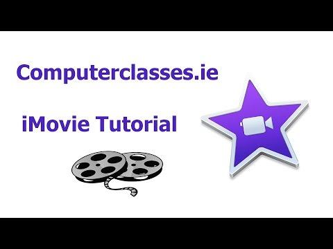 FULL iMovie Tutorial class for beginners 2017