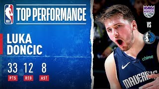 Luka Records Double-Double!