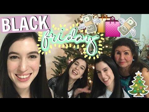 Black Friday + Decorando el Arbolito♡Trillizas | Triplets