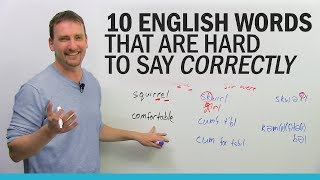 10 English words that are hard to say correctly | Kholo.pk