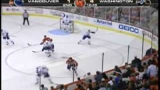 Ovechkin with a monster hit on wellwood good quality ..