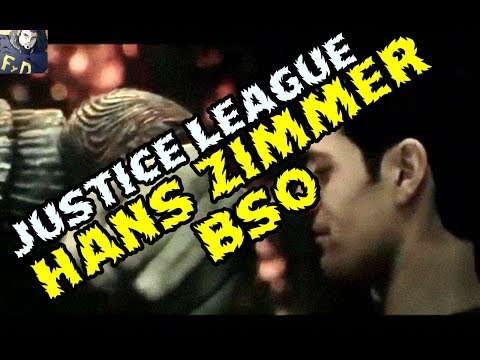 SUPERMAN FIGHTS STEPPENWOLF  WITH HANS ZIMMER AND JUNKIE XL MUSIC BSO JUSTICE LEAGUE