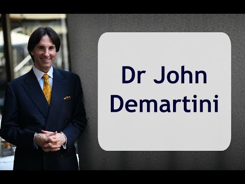 ABOUT DR. JOHN DEMARTINI