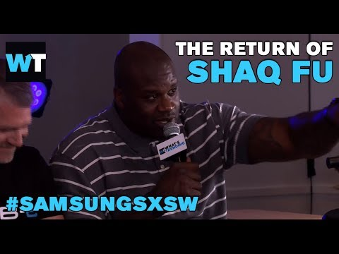Shaq Talks Shaq-Fu And Why You Should Give Him Your Money