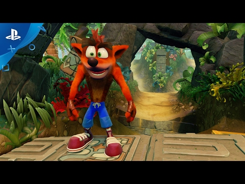 Crash Bandicoot N  Sane Trilogy Game | PS4 - PlayStation