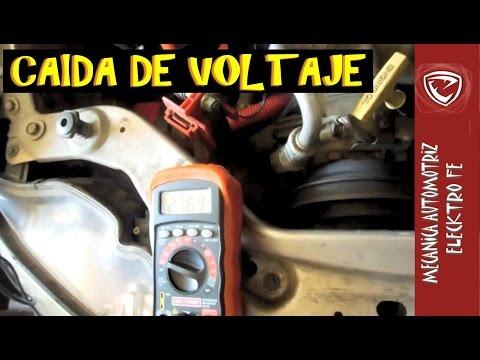 Prueba de caida de Voltaje (Electricidad del auto)