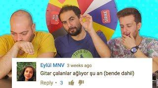 Bu Yorum Hangi Youtuber'a Geldi? - Çarkı Çevir Cezayı Çek