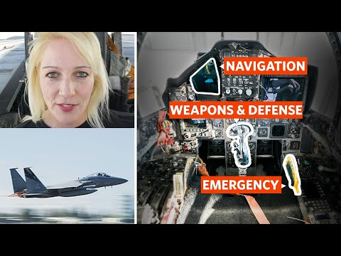 Fighter Pilot Breaks Down Every Button in an F15