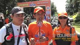 preview picture of video 'ThaiBikerTV | 3 COUNTRY CHARITY RIDE #2 NAKHON SRI part 2'