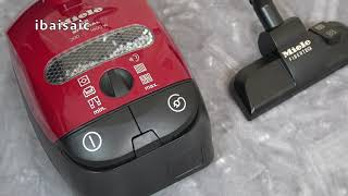 Miele S2 Special Toy Vacuum Cleaner By Theo Klein Unboxing & Demonstration