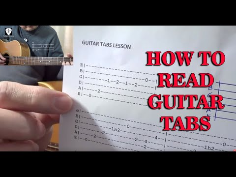 How To Read Guitar Tabs (Lesson in Tagalog with Guitar Sample Demo)