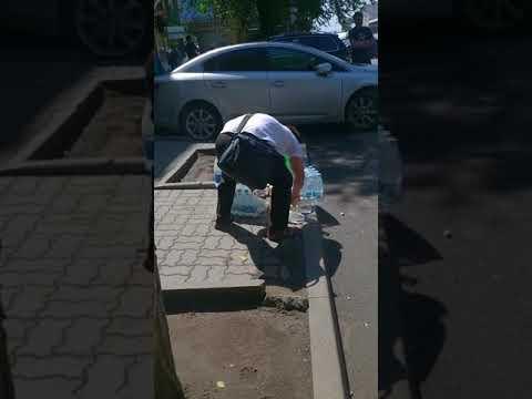 Доставка питьевой воды. Ростов на Дону, пр.Будёновский Серафимовича.