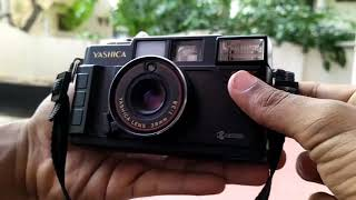 How Yashica camera (SLR) MF-2 super DX Works! | Working of Film Roll camera