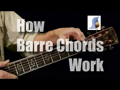 How Barre Chords Work - Guitar Lesson