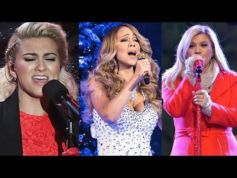 """Famous Singers Singing The Climax HIGH NOTE In """"O Holy Night""""!"""