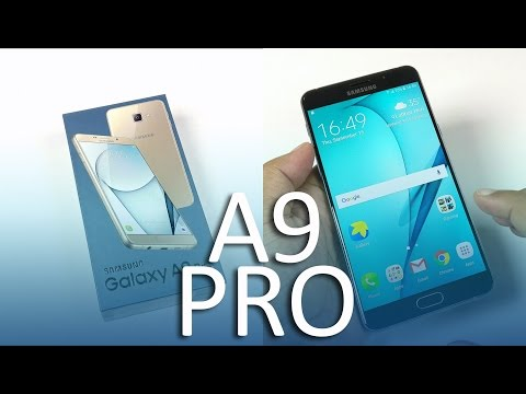 Samsung Galaxy A9 Pro Unboxing and Hands-on Impressions