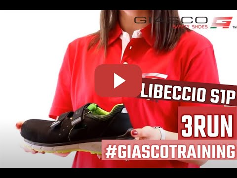 #GIASCOTraining: LIBECCIO S1P. The unique ESD safety sandal with 3-pu densities