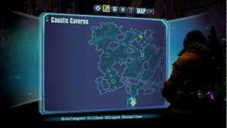Borderlands 2 - Quest Walkthrough The Lost Treasure w/ Map