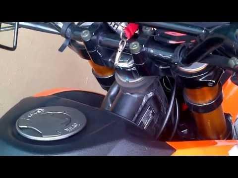 Benelli Keeway TX 200G - AHM m1 Exhaust sound