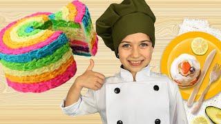 მზარეული ემილია ამზადებს ნამცხვარს ღუმელის გარეშე