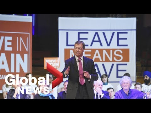 'Leave Means Leave' Supporters Hold Rally In London Mp3