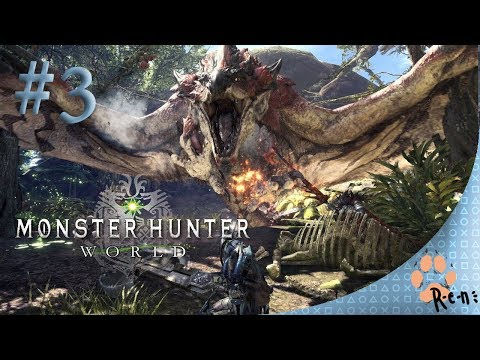 Monster Hunter world CZ Stream