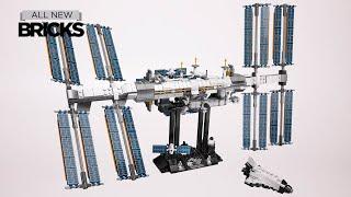 Lego Ideas 21321 International Space Station Speed Build