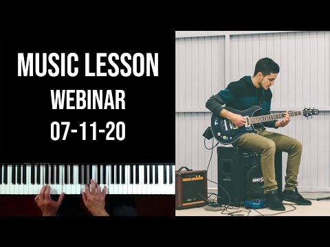 Lessons with Carlos (Webinar 07-11-20)