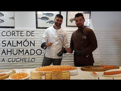 Evento corte de salmón. Latxaska Etxea (Madrid)
