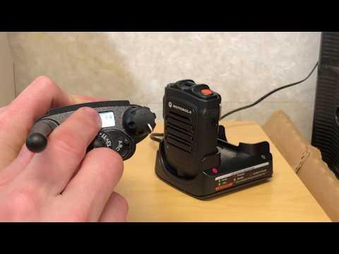 Motorola RLN6554A Bluetooth Remote Speaker Microphone