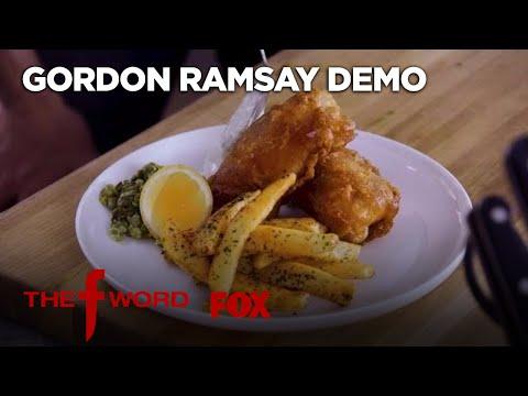 Gordon Ramsay Gives Tips for Making Crispy Fish & Chips