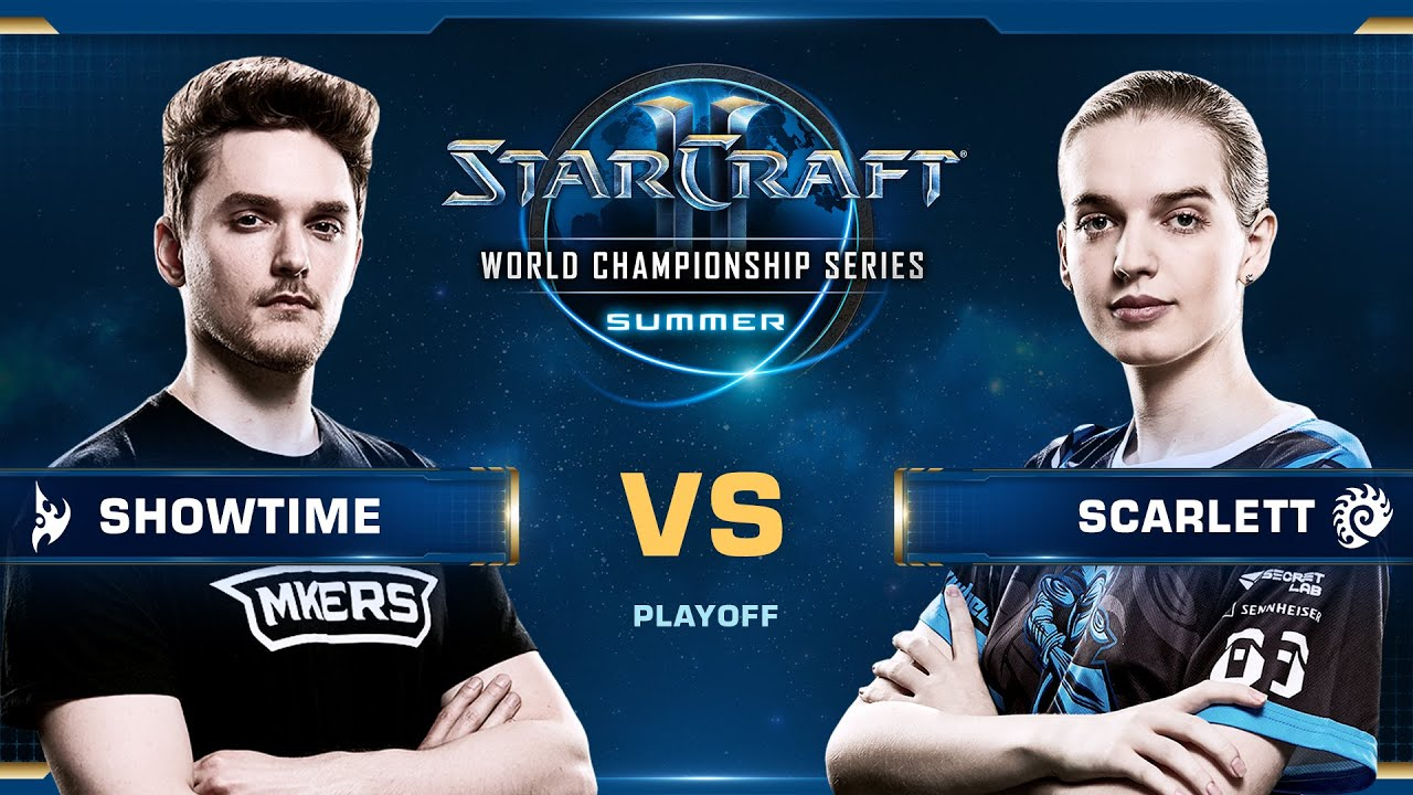 WCS Summer 2019 - ShoWTimE vs Scarlett - StarCraft II WCS