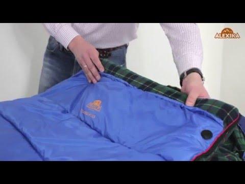 Смотреть видео Спальный мешок Alexika Tundra Plus