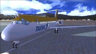 Vuelo 725 de TAESA (Uruapan - Mexico) Reconstrucción