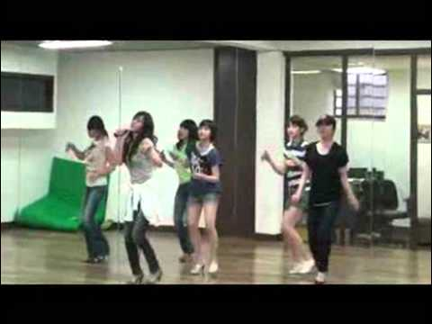 Color Pink (Davichi-Seeya-Blackpearl) - Bluemoon (Rehearsal)