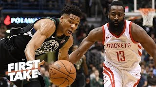 James Harden is more valuable than Giannis in the NBA playoffs - Stephen A. | First Take