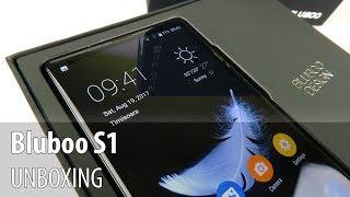 Bluboo S1 Unboxing în Limba Română (Telefon cu ecran edge-to-edge în stil Xiaomi Mi MIX)