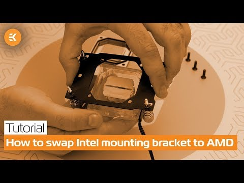 How to Swap the Intel Mounting Bracket for the AMD One