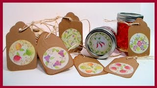 Jelly Jar Labels And Gift Tags