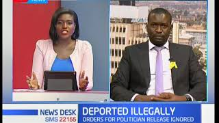 Miguna Miguna's lawyer Edwin Sifuna reacts to court ruling on Miguna's deportation