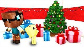 I MIEI FIGLI APRONO I REGALI DI NATALE! - Casa di Minecraft #48
