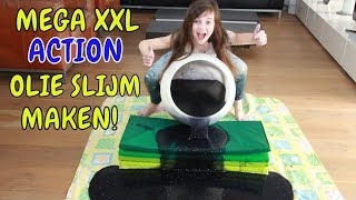 DIY - ZELF MEGA XXL ACTION OLIE SLIJM MAKEN (Nederlands) - Bibi - Video Youtube