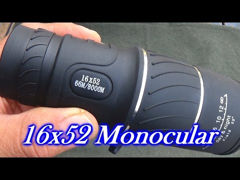 Archeer 16×52 Monocular Review